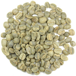 ziarna kawy zielonej - zdjęcie